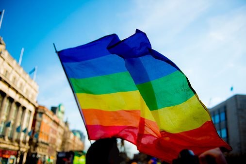 Gay Pride Flag Stock Photo - Download Image Now