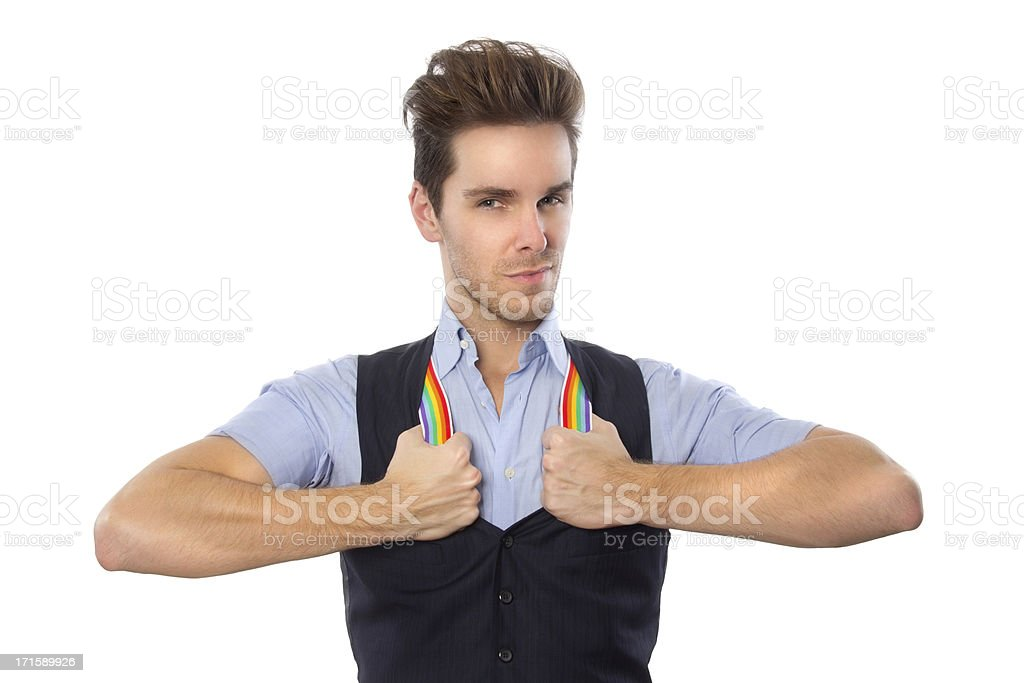 Gay Pride In the Workplace royalty-free stock photo