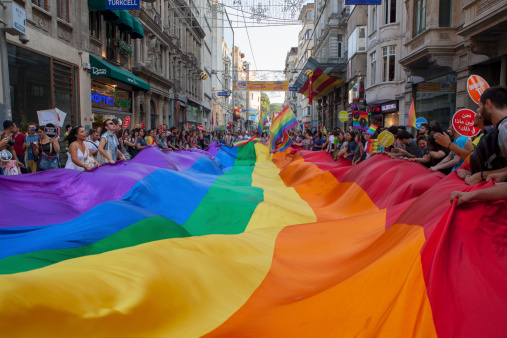 Gay Pride Istanbul 2013 Stock Photo - Download Image Now