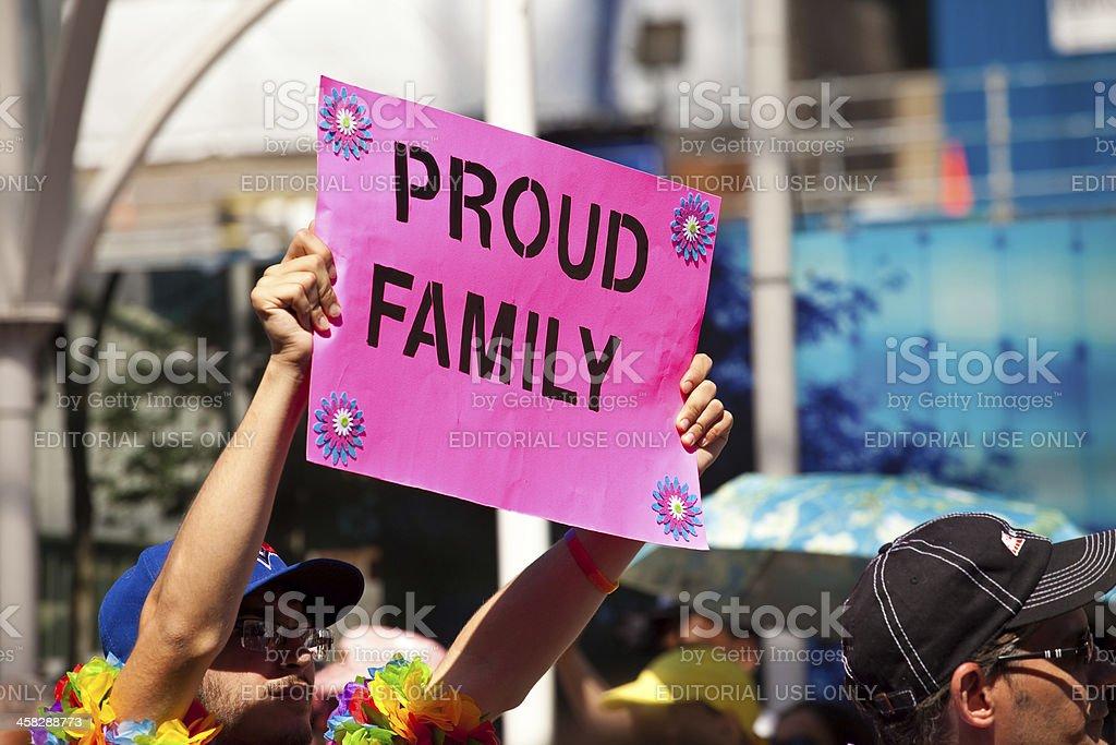 Gay Pride Parade royalty-free stock photo