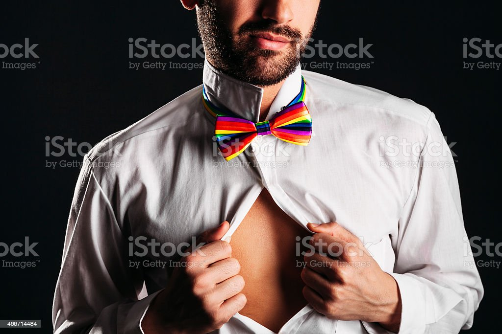 Gay pride stock photo