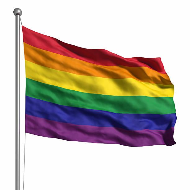Stock photo Rainbow gay flag