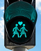 gay traffic light
