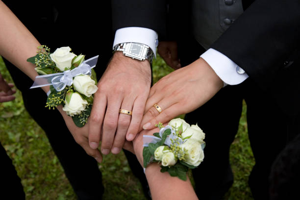 Gay Wedding stock photo