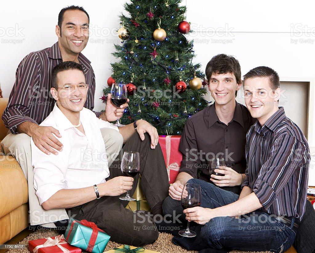 gay xmas christmas pride royalty free stock photo - Gay Pride Christmas Decorations