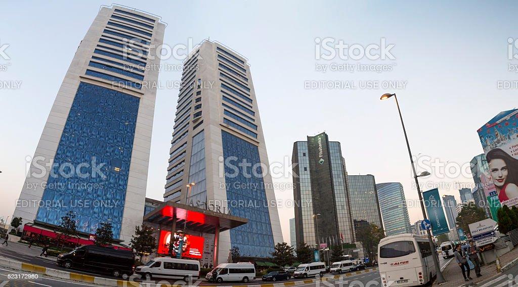 Gayrettepe, Istanbul stock photo