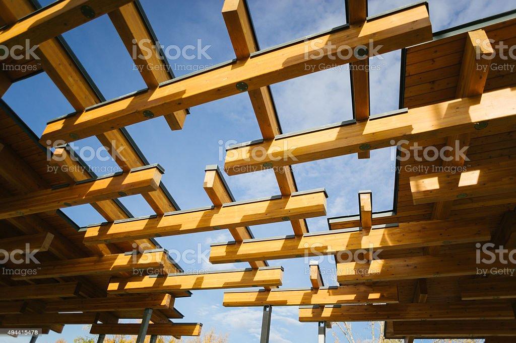 Gazebo Architecture Detail stock photo