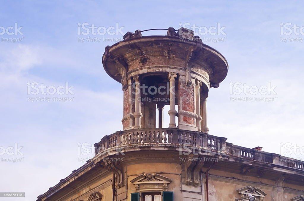 4 11 월 광장, 몬테 바르 치에에서 건물의 옥상에 전망대 - 로열티 프리 0명 스톡 사진