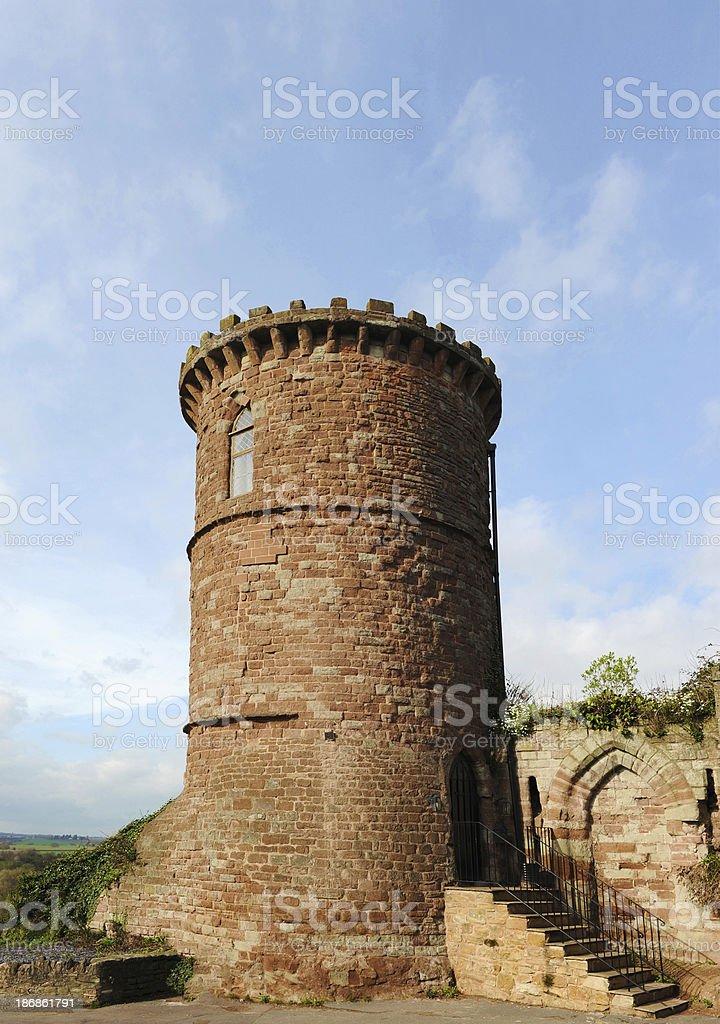 Gazebo Tower at Ross On Wye stock photo