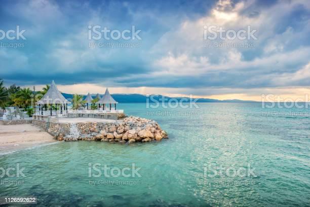Gazebos and beach in montego bay jamaica picture id1126592622?b=1&k=6&m=1126592622&s=612x612&h=urgmchi2ml40hjkhbgtbyu9azem4g7zlmn6wgxxz13m=