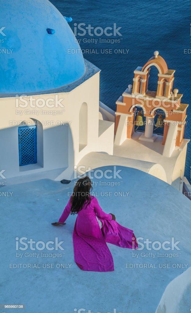 Blicken mot havet - Royaltyfri Arkitektur Bildbanksbilder