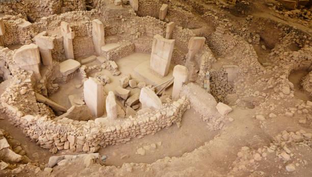 göbeklitepe-der älteste tempel der welt - kult stock-fotos und bilder