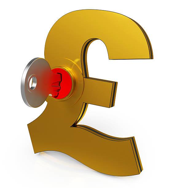 Royalty Free British Pounds British Currency Key Pound Symbol