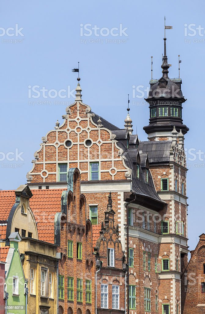 Gdansk Old Town - Poland royalty-free stock photo
