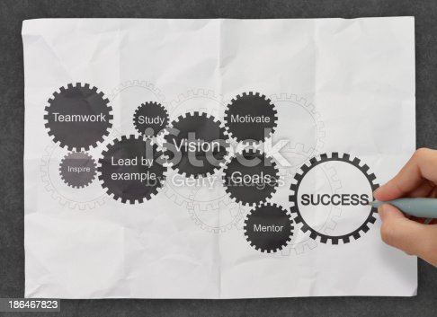istock gear business success chart as concept 186467823