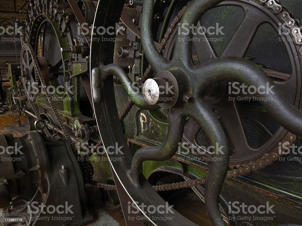 Gear Drive stock photo