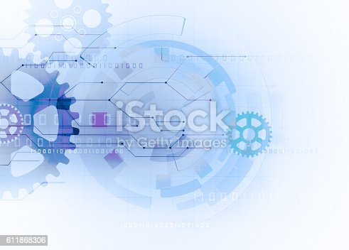 istock gear futuristic technology background 611868306