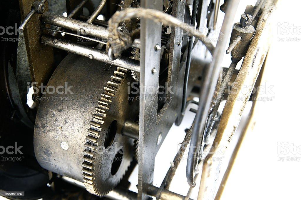Sprzęt w mechanizm stary zegar. – zdjęcie