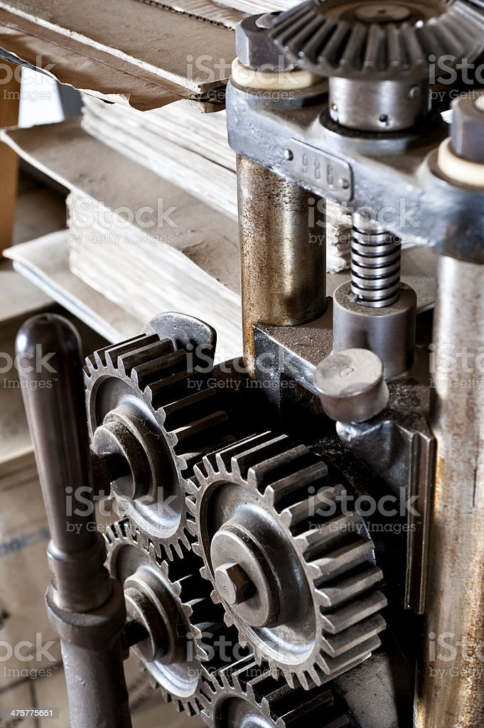 Gear Industrial stock photo