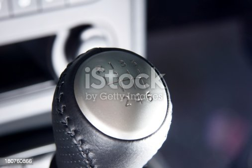 istock Gear Lever 180760866