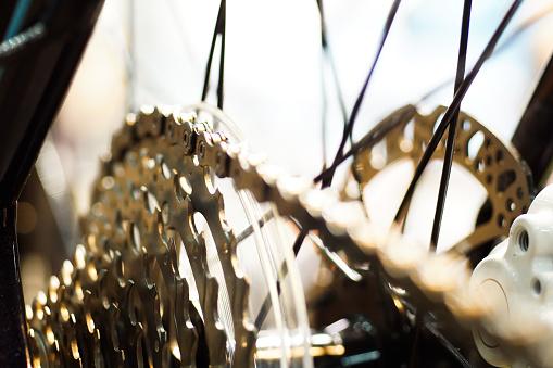 gear mechanics - bicycle