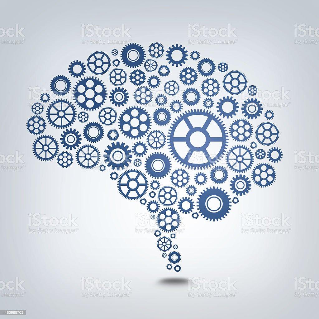 Gear Mind stock photo