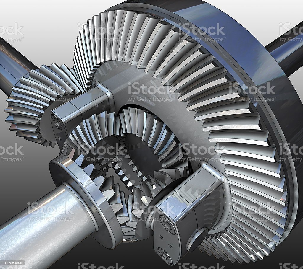 Gear. royalty-free stock photo