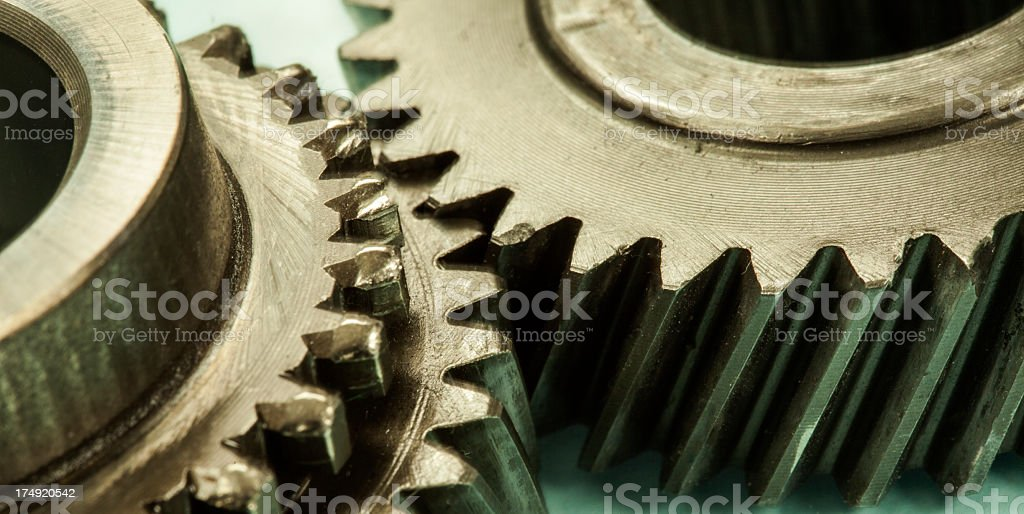Gear royalty-free stock photo