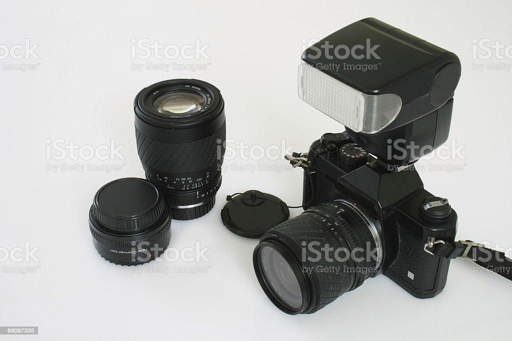 SLR engranajes foto de stock libre de derechos