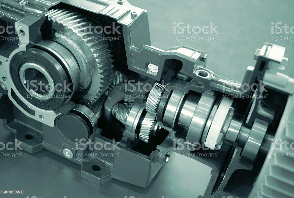 Gear Reduction Box stock photo