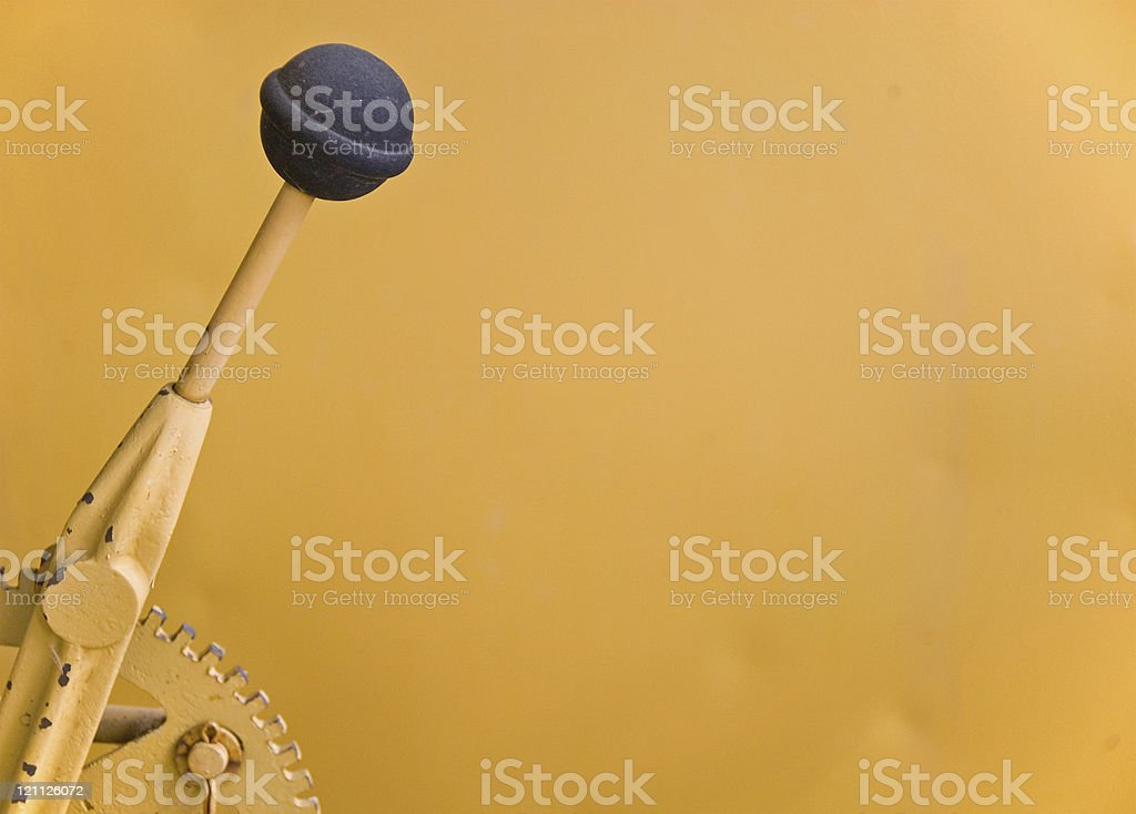 Gear Shift with Copy stock photo
