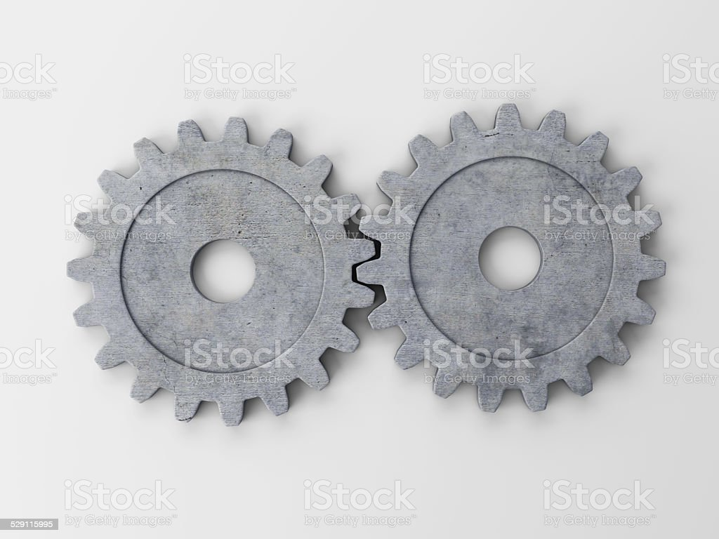 gear to place concepts stock photo