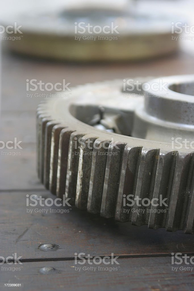 Gear wheel royalty-free stock photo