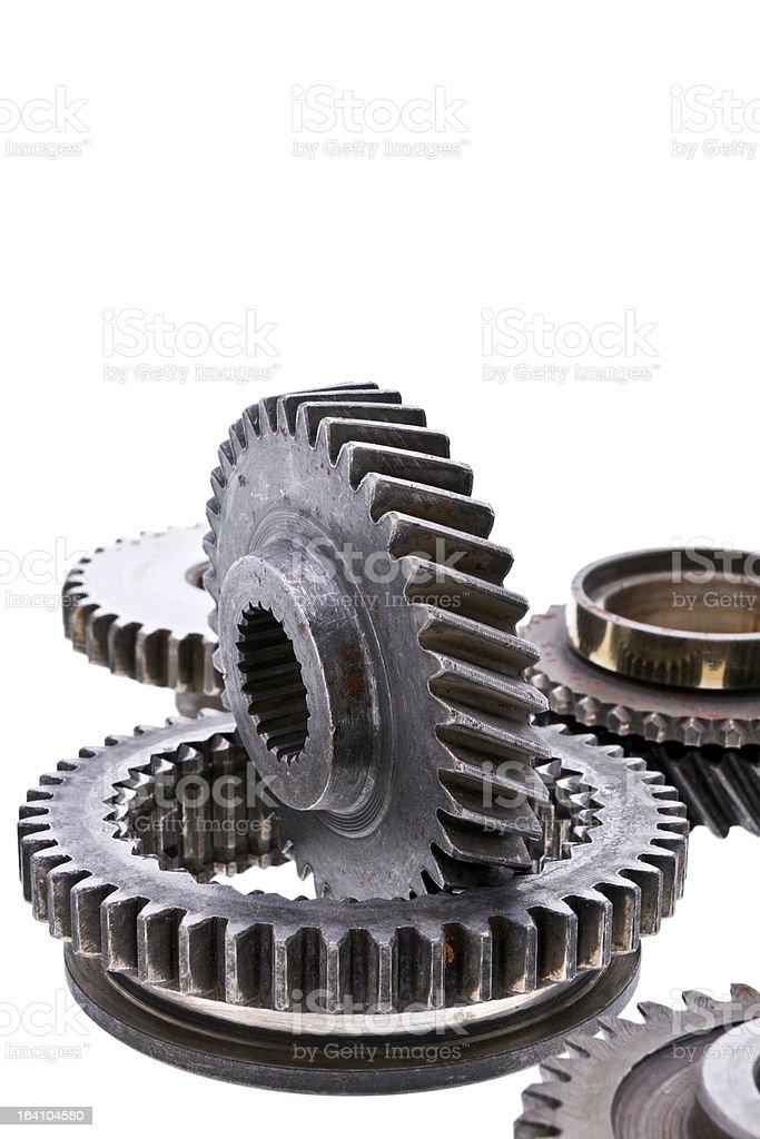 Gear wheels royalty-free stock photo