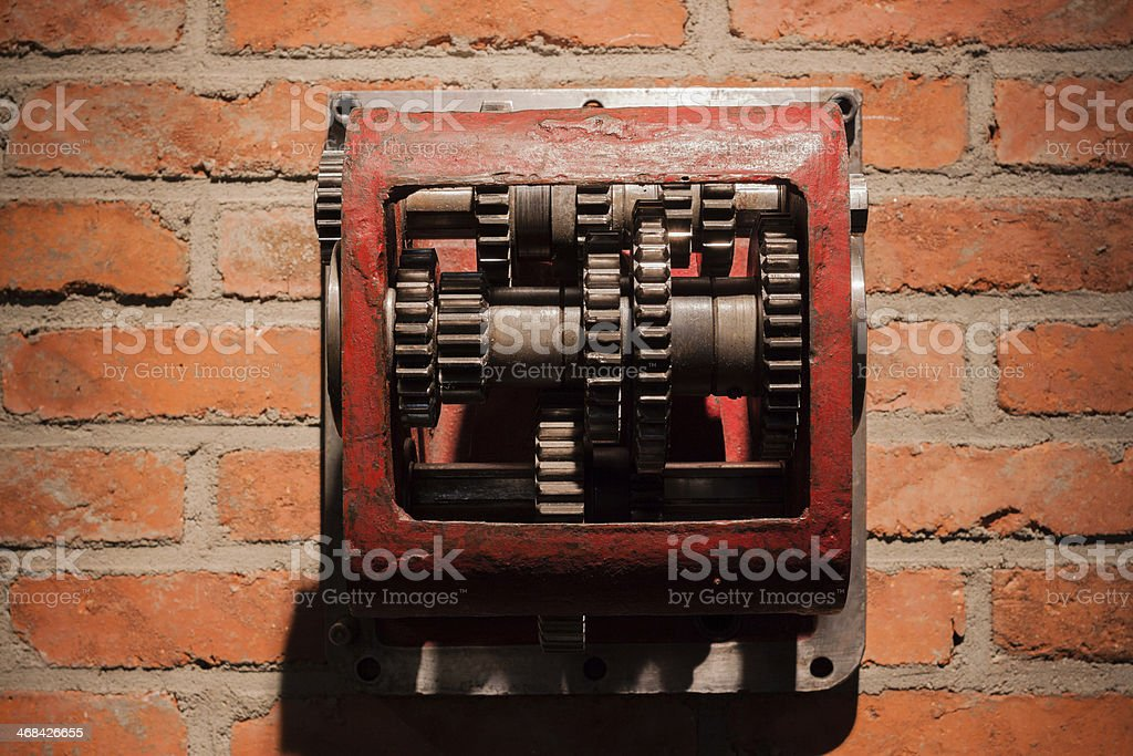 Gearbox royalty-free stock photo