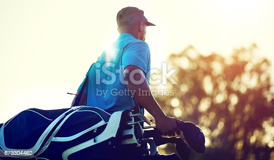 istock Geared up for a game of golf 673304462