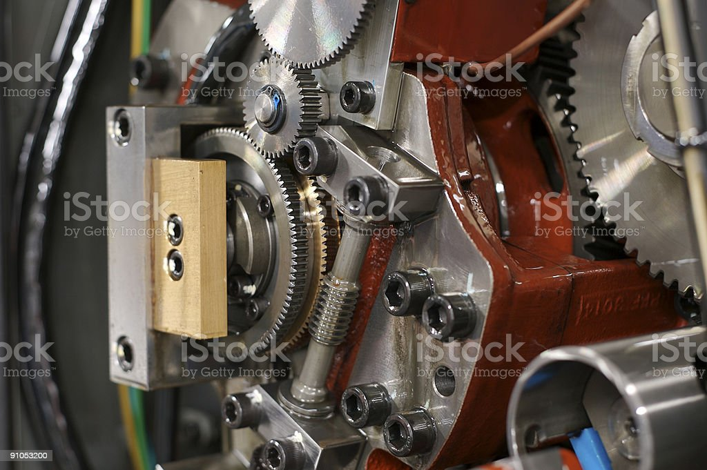 Gearing... stock photo