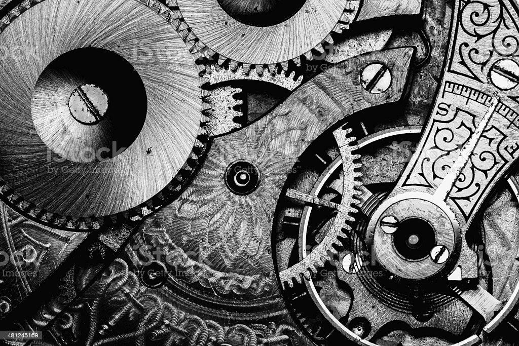Gears, Cogs, Age. stock photo