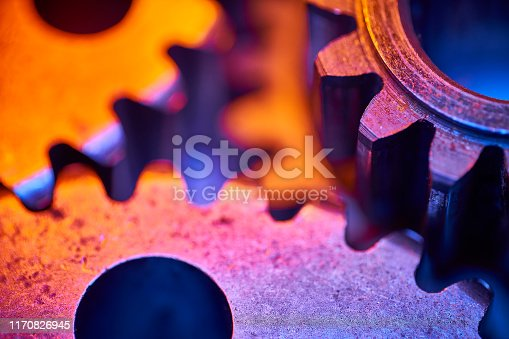 istock Gears: colorful, close-up, abstract concept for teamwork and unity 1170826945