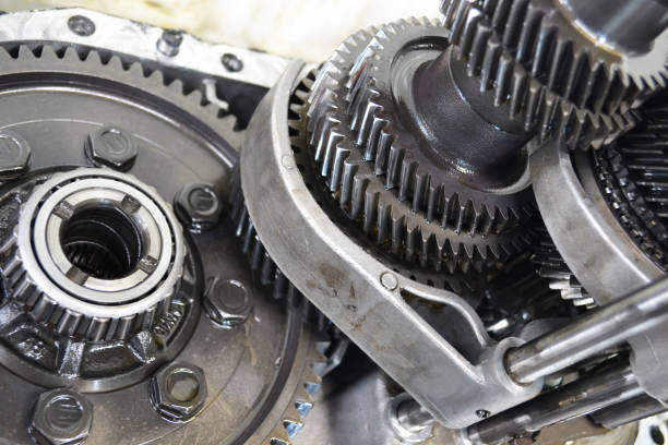 gears from gearbox gears from gearbox selective mechanism gearshift stock pictures, royalty-free photos & images