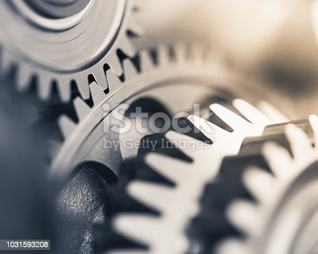 gears industrial background