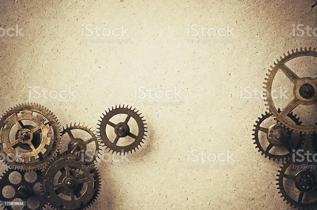 Gears on Background stock photo
