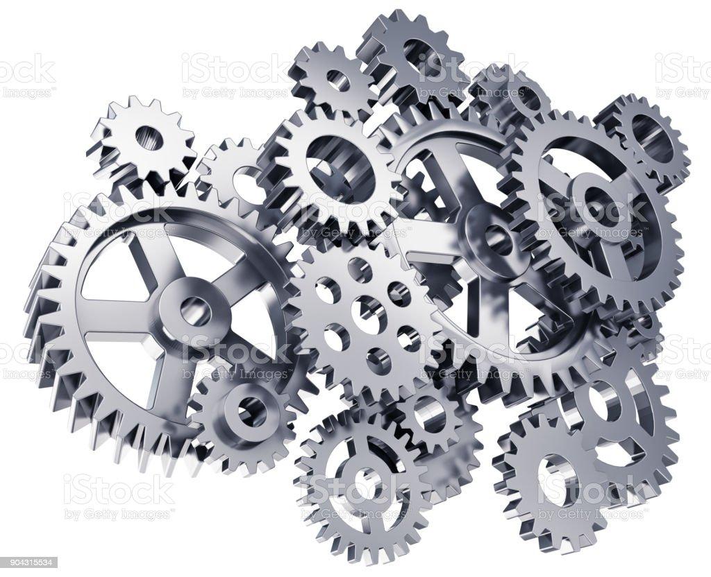 Gears or cogwheels stock photo
