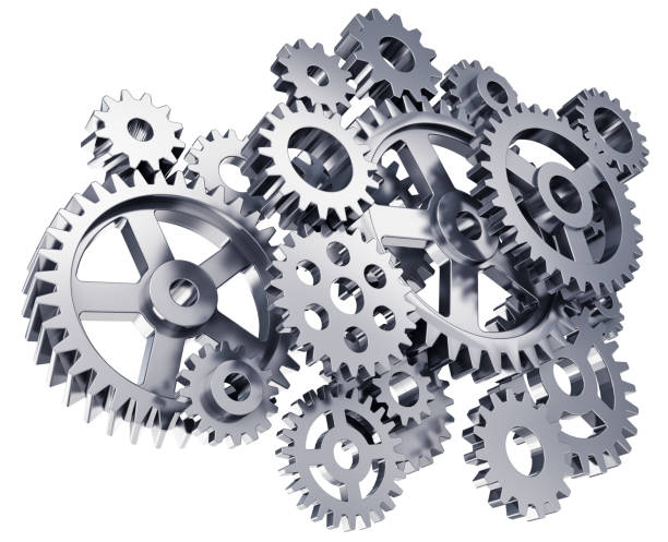 gears or cogwheels - cog stock photos and pictures