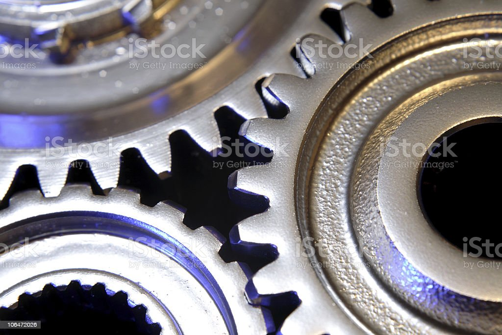 Gears royalty-free stock photo