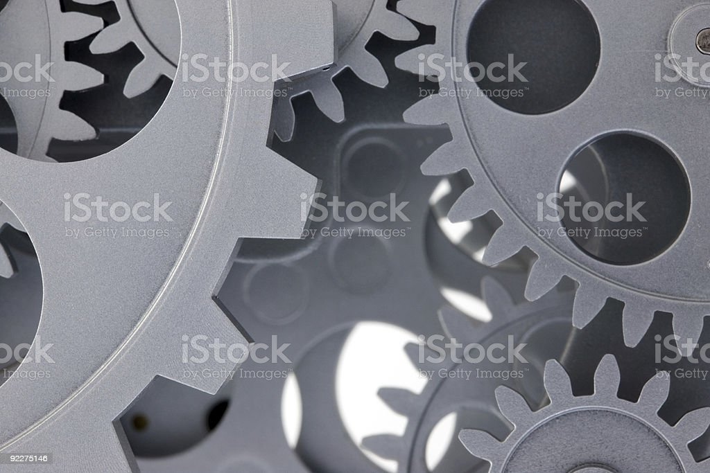 Gears. royalty-free stock photo