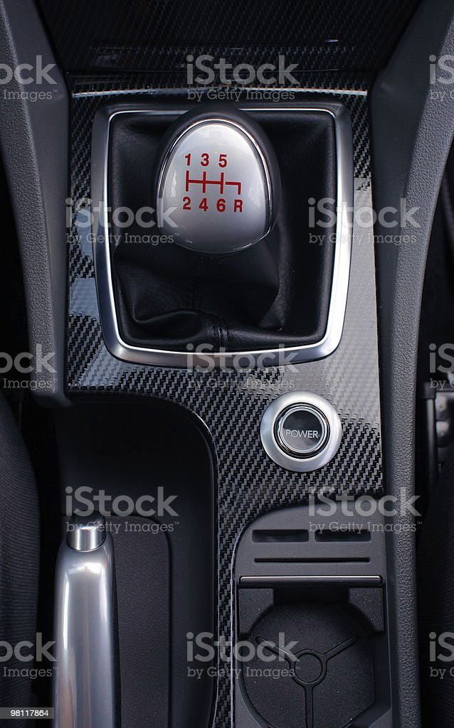 Gearshift royalty-free stock photo