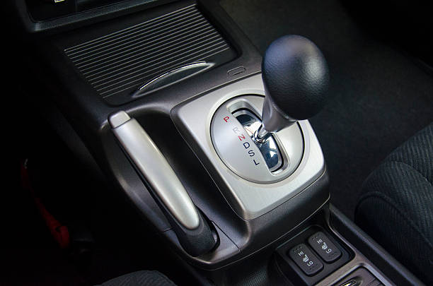Gearshift Stick stock photo