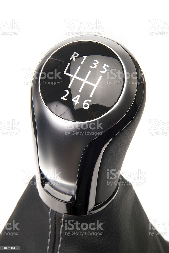 gearstick royalty-free stock photo
