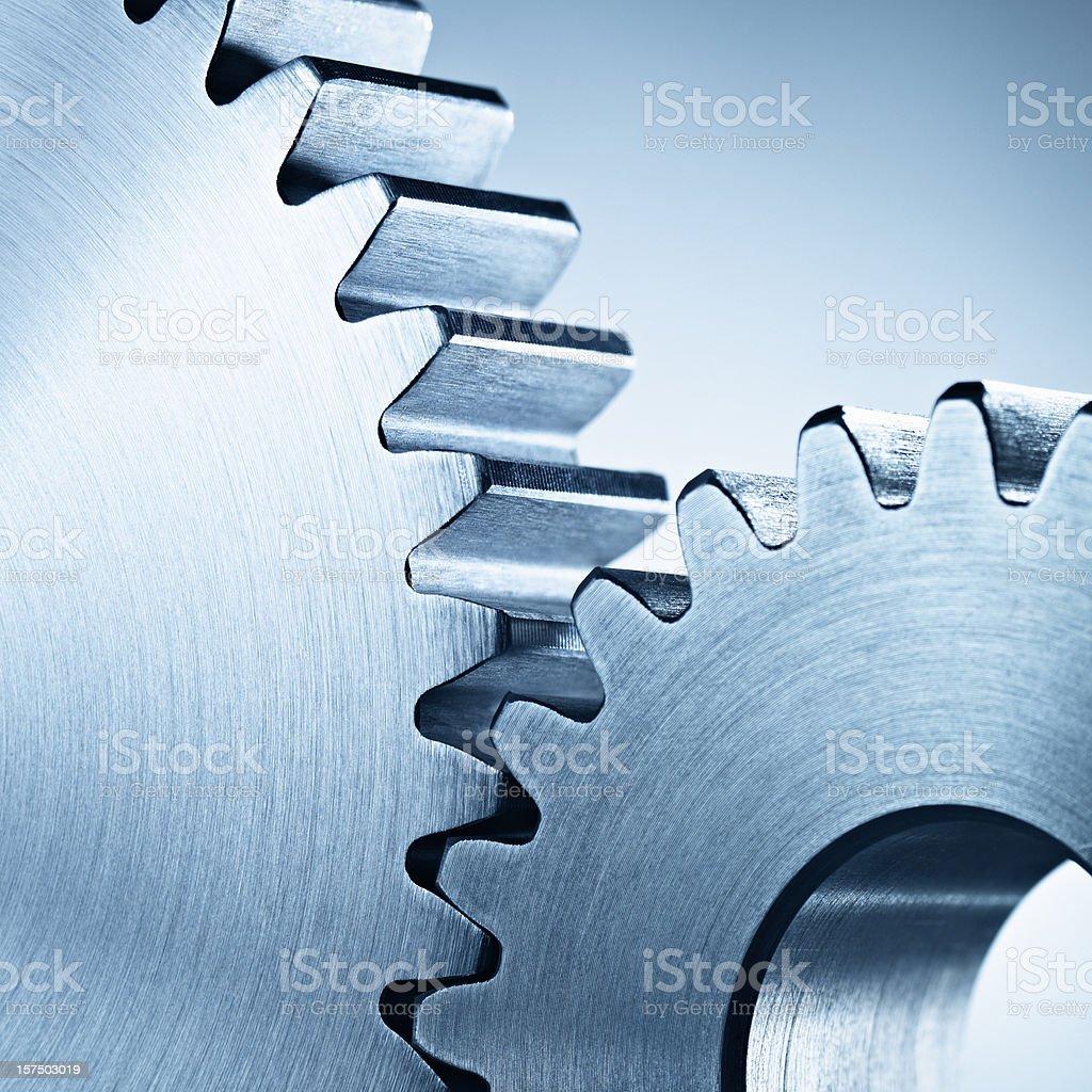 Gearwheels stock photo